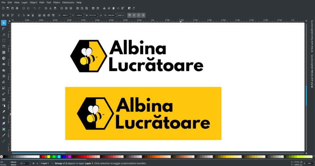 Redesign  & rebranding  Albina  Lucratoare