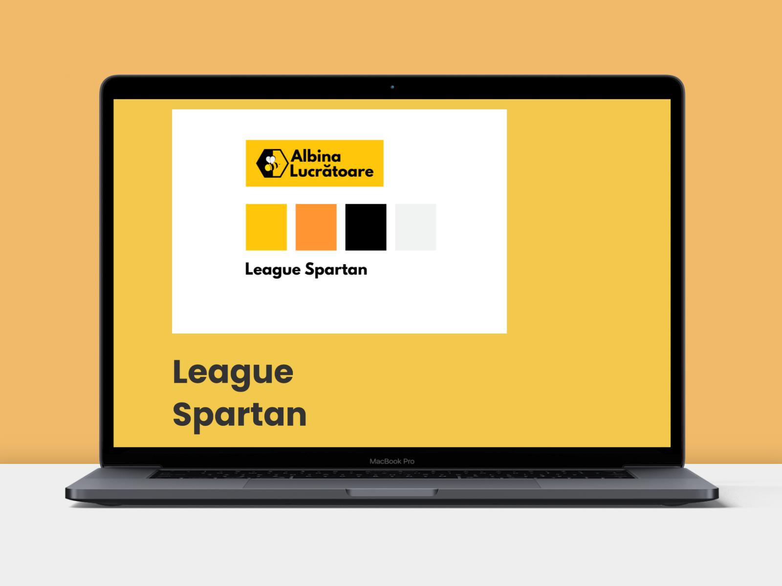 League Spartan Font Albinalucratoare